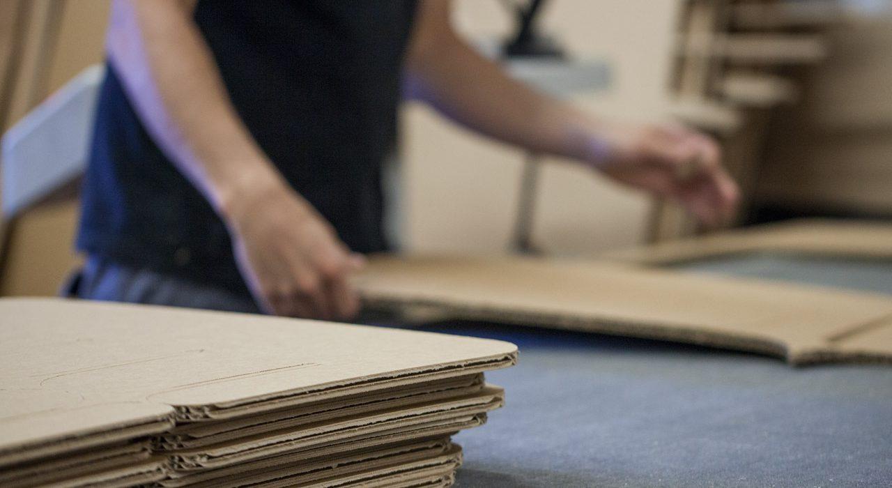 Produzione imballaggi cartone